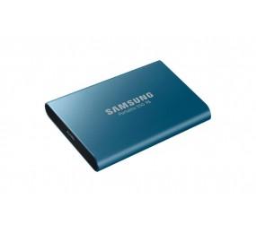 Samsung SSD externe Portable T5 500 GB, Bleu