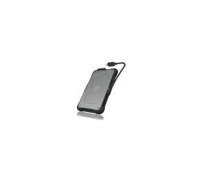 """ICY BOX Boîtier externe étanche IB-287-C31 USB 3.1 (Gén 2) Type-C pour 2,5"""" SATA HDD/SSD"""