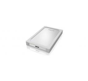 """ICY BOX Boîtier externe IB-254U3 2,5"""" en aluminium avec USB 3.0, manchon de silicone supplémentaire"""