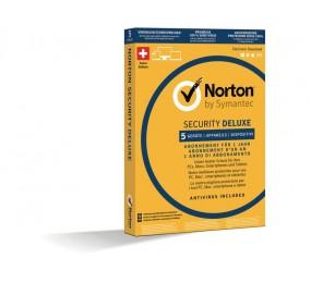 Norton Security Deluxe Box 5U 1Y