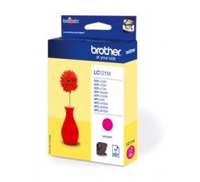 Cartouche Brother LC-121M magenta