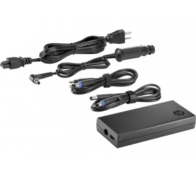 HP 90W Slim Combo AC Adapter avec USB