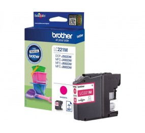 Cartouche Brother LC-221M magenta