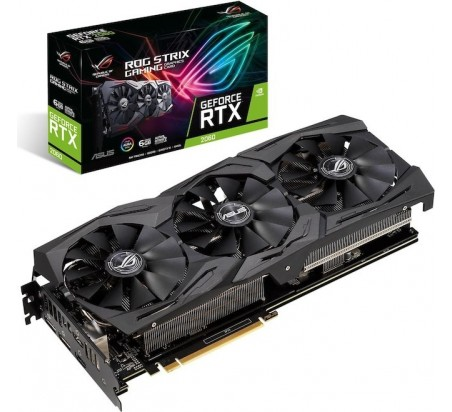 Asus Nvidia GeForce ROG STRIX RTX2060 6G GAMING